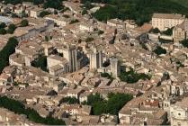 Uzès old town