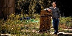 Escargot farmer Cyril Santos